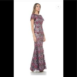 NWT JS Collection Embroidered Overlay Illusion 6